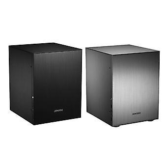 Aluminum Computer Case/desktop Pc Chassis For Mini Itx Microatx Support