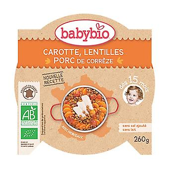 Carrot Lentils from Gers Corrèze Pork 260 g