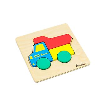 "Alatoys Wooden  Puzzle ""Truck"""
