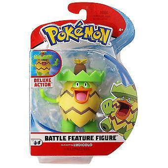 Pokemon 4.5 Pollici Battaglia Figura - Ludicolo