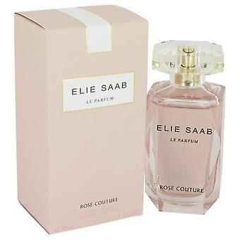 Le Parfum Elie Saab Rose Couture Eau De Toilette Spray By Elie Saab 3 oz Eau De Toilette Spray