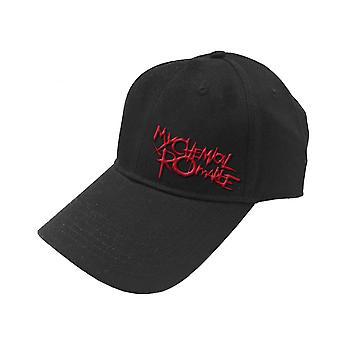 My Chemical Romance Baseball Cap Black Parade Band Logo new Official Black