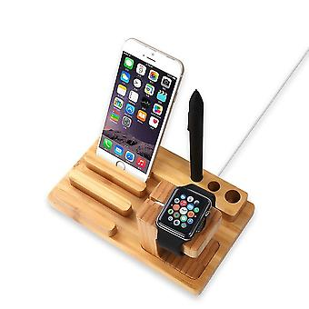All In One Bamboo Docking Station