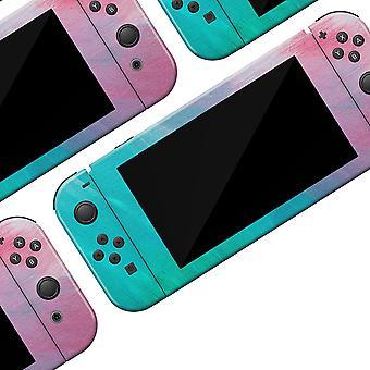 Pastel Marmor Surface - Full Body Hud Decal Wrap Kit til Nintendo