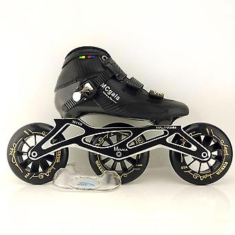 Professional Speed Inline Skates Competition Wheels Boots/men