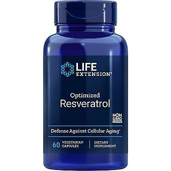 Life Extension Optimized Resveratrol Vegicaps 60
