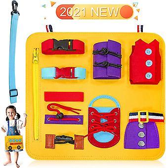 Montessori Spielzeug,Busy Board Motorikbrett Spielzeug,Motorik Lernspielzeug ,Activity Board fr