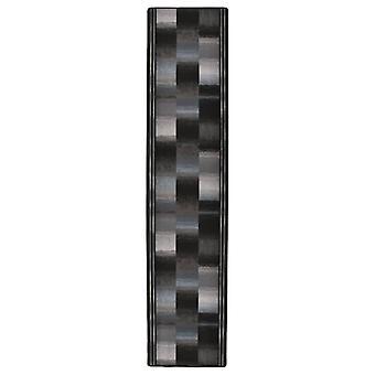 vidaXLカーペットランナーラバーバックブラック67x300 cm