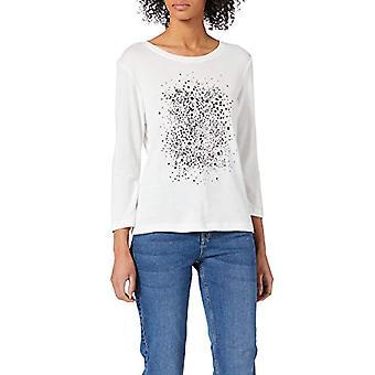 Tom Tailor 1023270 T-Shirt, White Whisper, S Vrouw