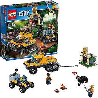 City 60159 - Mission mit dem Dschungel-Halbkettenfahrzeug