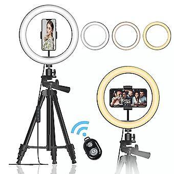 26Cm fill light photography tripod led ring fill light