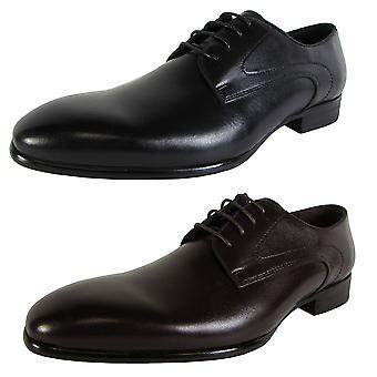 Steve Madden Mens Capless Lace Up Oxford Dress Shoes