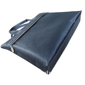 Datei Laptop Tasche Herren Aktentasche einfache Notebook Tasche Falten Gusset