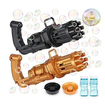 Gatling Bubbler Gun Outdoor Bubble Maker With Light And Music