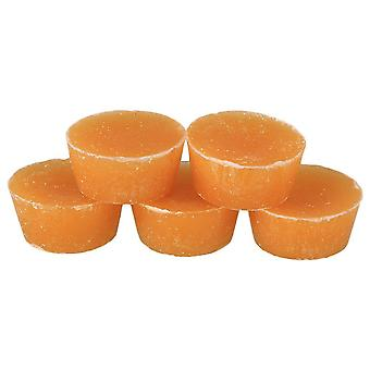 For 5pcs Yellow Natural Pure Beeswax Small Round Shape Easy Use Cosmetic Grade WS252