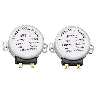 ل2pcs WB26X10038 محرك الميكروويف الدوار 769741 EX73SAAA3 DE31-10172A WS390