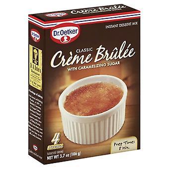 Dr Oetker Mix Crm Brulee, Case of 12 X 3.7 Oz