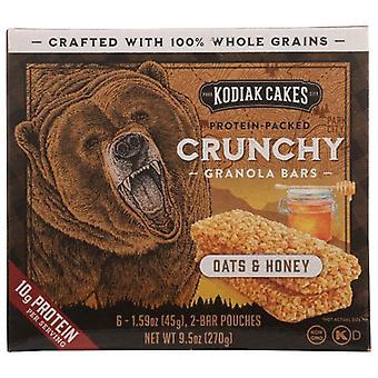 Kodiak Bar Granola Oat Honey, Case of 12 X 9.5 Oz