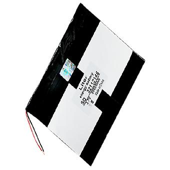 3.7v 9000mah Polymer Lithium Ion / Li-ion Battery For Tablet Pc