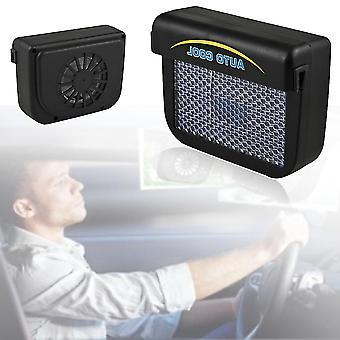 Solar Sun Power Voiture Auto Air Vent Cool Fan Cooler Système de ventilation Radiateur