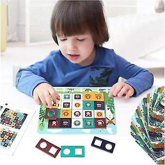 Animal Confrontation Children's Early Education Educational Toys Puzzle