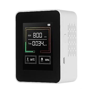 Deal cheapest Air Quality Monitor CO2 TVOC Meter Temperature and Humidity Carbon Dioxide Detector