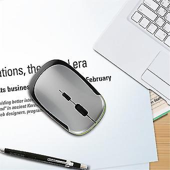 2.4ghz Ultra-schlanke Mini Usb Wireless optische Maus Silber für Pc Laptop