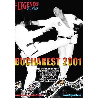 Bucarest 2001 Real Shotokan Acción Dvd -Vd7104A