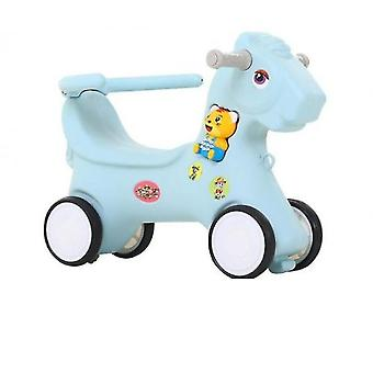 Tyre Horse Riding Toys For Children(Blue)