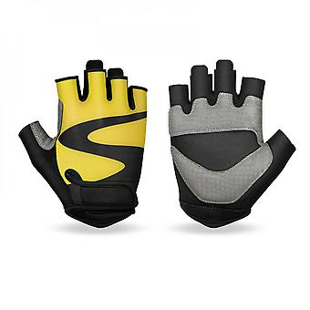Evago Warm Cycling Gloves Half Finger Bicycle Gloves Shock-absorbing Anti-slip Breathable Material Suitable For Road Biking Gloves