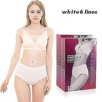 6pcs Women's No Wash Disposable Breathable Underwear(XL)