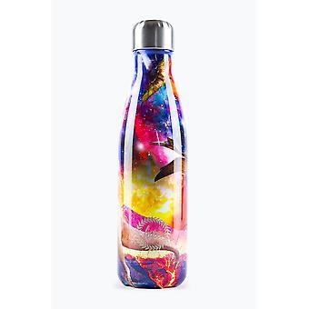 Hype Space Dinosaurier Metall Wasserflasche