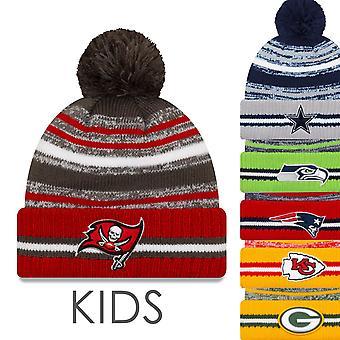 New Era NFL Sideline Kids Winter Beanie 2021/2022