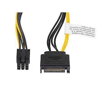 SATA Cable Lanberg CA-SA6P-10CU-0020 0,2 m