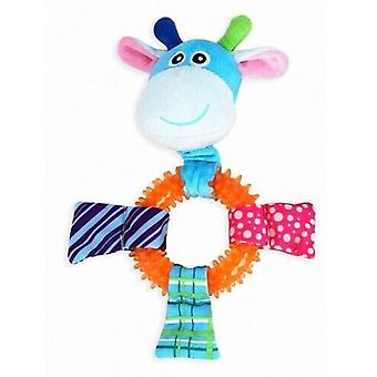 Pawise Puppy Toy Ring Giraffe Puppy Toy (Dogs , Toys & Sport , Chew Toys)