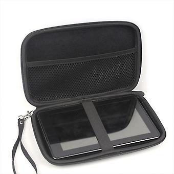 7 Inch Hard Shell Carry Bag Zipper Pouch Case For Garmin Nuvi Sat Nav Gps 1xcf