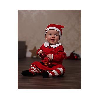 Olennainen yksi vauva tyttö Mrs Santa puku