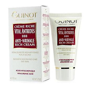 Guinot Anti-wrinkle Rich Cream (for Dry Skin) - 50ml/1.7oz