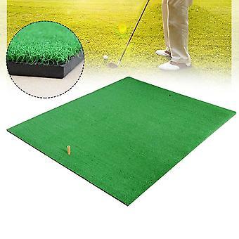1x1.25m Golf Grass Mat Practice Training Lawn Mat Golf Hitting