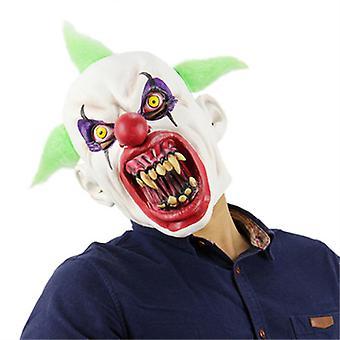 ハロウィンゾンビマスクピエロマスクラテックスホラーマスクスカルゴーストマスク