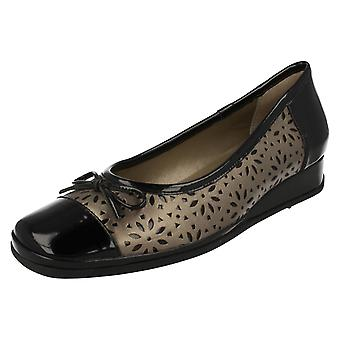 Ladies Van Dal Smart Low Wedge Pumps Monteray