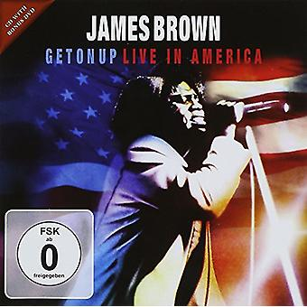 James Brown - vivre en importation USA Amérique [CD]