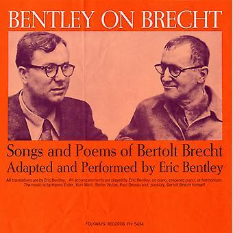 エリック ・ ベントレーのベントレーでブレヒト: ベルトルト ・ ブレヒト 【 CD 】 アメリカ輸入の曲・詩