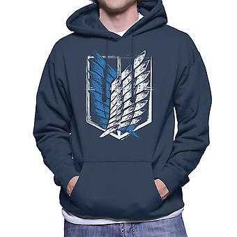 Attack On Titan Wings Of Freedom Men's Hooded Sweatshirt