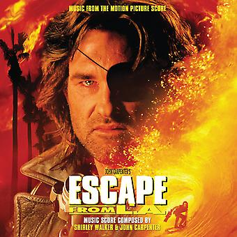 Walker, Shirley / Carpenter, John - Escape From L.a. Music From Motion Picture Score [Vinyl] USA import