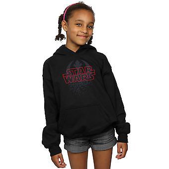 Star Wars meisjes de laatste Jedi verbrijzeld embleem Hoodie