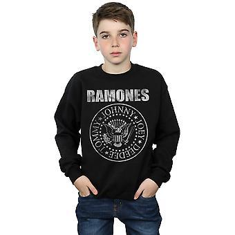 Ramones Boys Distressed Seal Sweatshirt