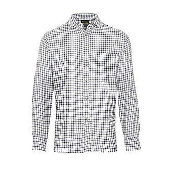 """Champion Mens Country Salisbury Koszula z długim rękawem-Oliwkowy-Średni-Max 43"""", 110cm"""