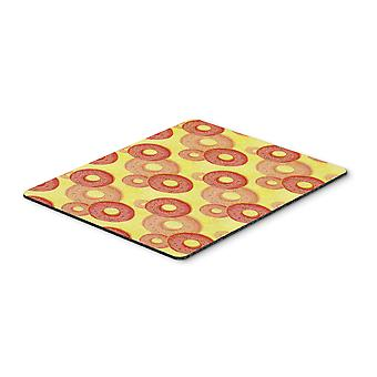 Watercolor Just Donuts Mouse Pad, Hot Pad or Trivet