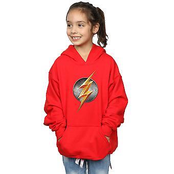 DC Comics Girls Justice League Movie Flash Emblem Hoodie